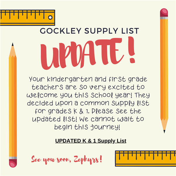 2020-21 Hybrid Student Supply List