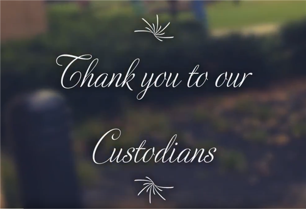 Custodian Thank You